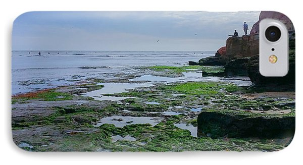 Steamer Lane Santa Cruz IPhone Case by Mark Barclay