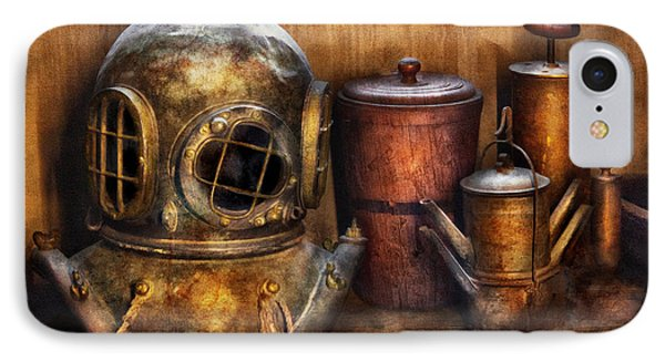Steampunk - A Collection From My Journeys IPhone Case by Mike Savad