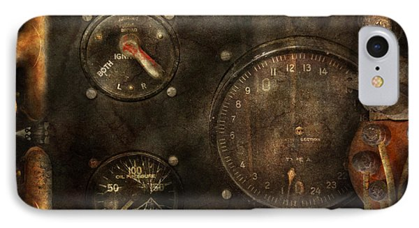 Steampunk - Check Your Pressure Phone Case by Mike Savad