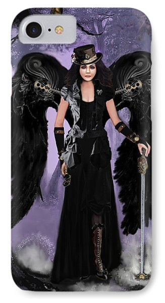 Steampunk Angel Phone Case by Melodye Whitaker