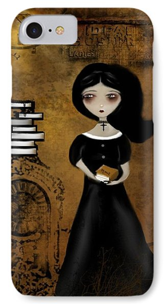 Steampunk Bibliophile Phone Case by Charlene Zatloukal