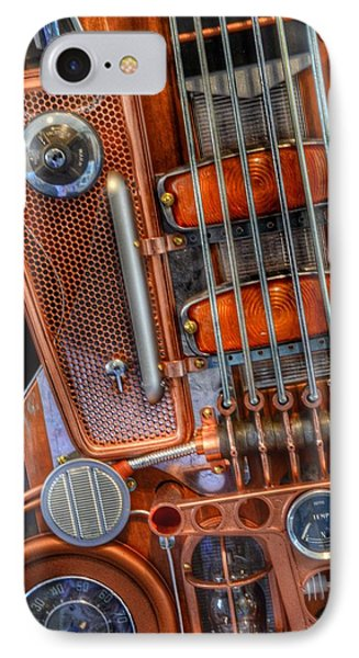 Steampunk Guitar 2 IPhone Case by Marianna Mills