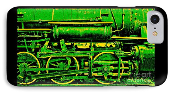 Steampunk Iron Horse No. 3 IPhone Case by Peter Gumaer Ogden