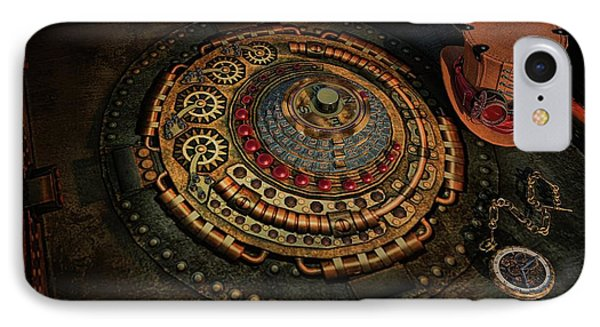IPhone Case featuring the photograph Steampunk by Louis Ferreira