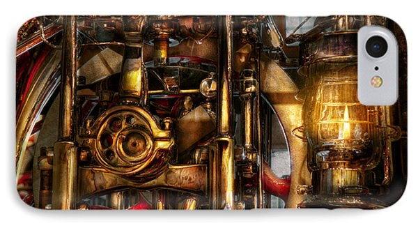 Steampunk - Mechanica  Phone Case by Mike Savad