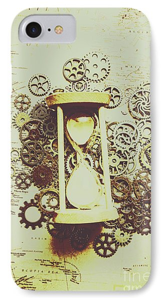 Steampunk Time IPhone Case