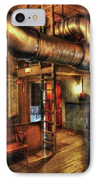 Steampunk - Where The Pipes Go Phone Case by Mike Savad