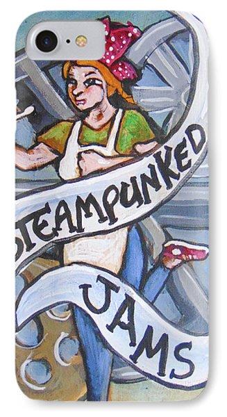 Steampunked Jams Phone Case by Loretta Nash