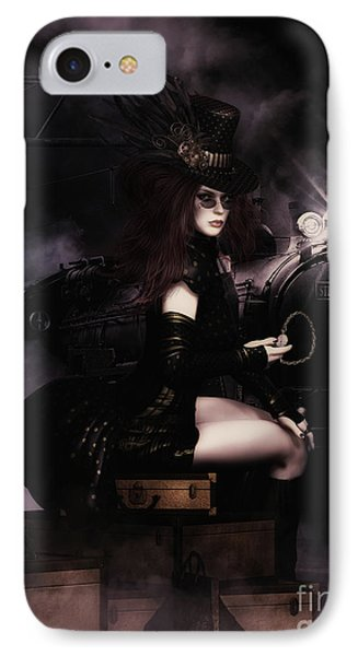 Steampunkxpress IPhone Case by Shanina Conway