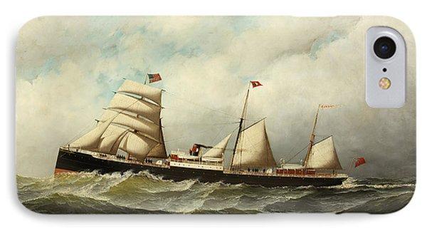 Steamship   Cornwall IPhone Case