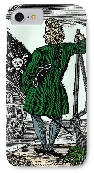 Stede Bonnet, English Pirate IPhone Case by Science Source