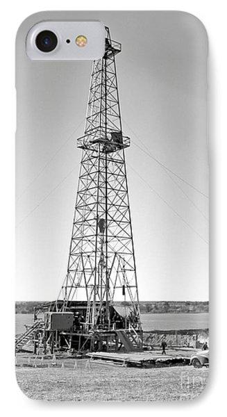 Steel Oil Derrick IPhone Case