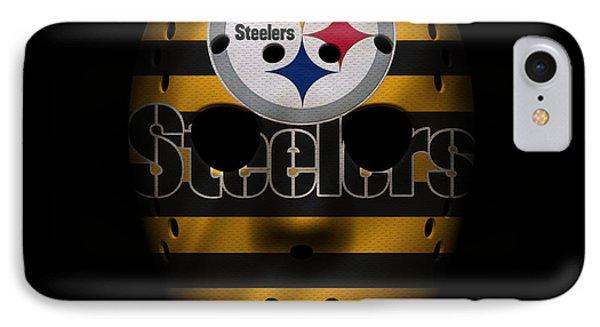Steelers War Mask 2 IPhone Case by Joe Hamilton