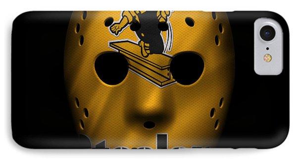 Steelers War Mask 3 IPhone Case by Joe Hamilton