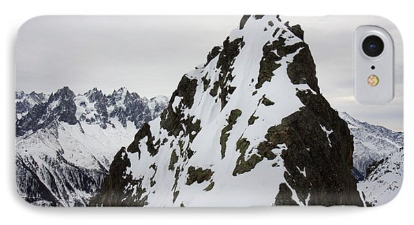 Steep Mountain Chamonix France Phone Case by Pierre Leclerc Photography