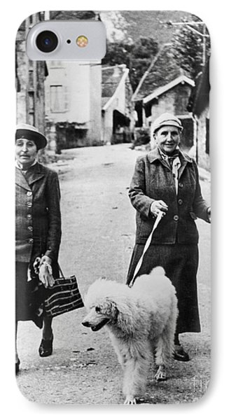 Stein And Toklas, 1944 Phone Case by Granger