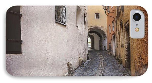 Steingasse Salzburg IPhone Case by Carol Japp