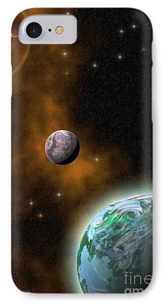 Stellar Smoke Ring Phone Case by Corey Ford