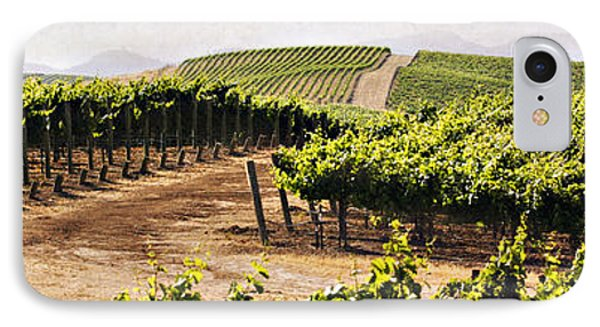 Step Into My Vineyard Phone Case by Marilyn Hunt