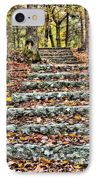 Step Into The Woods IPhone Case by Debbie Stahre