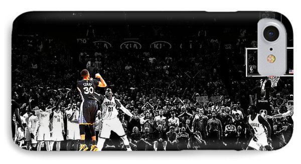 Steph Curry Its Good IPhone Case by Brian Reaves