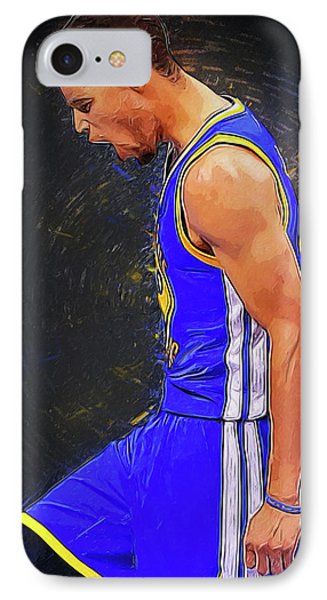 Steph Curry IPhone Case by Semih Yurdabak