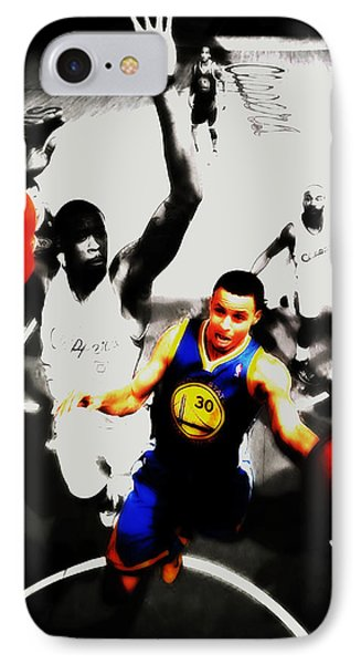 Stephen Curry Going Left Hand IPhone Case