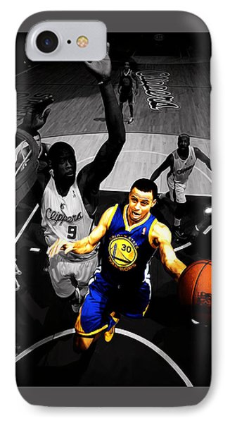 Stephen Curry In Traffic IPhone Case