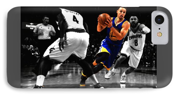 Stephen Curry On The Move IPhone Case