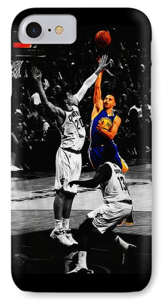 Stephen Curry Soft Touch IPhone Case