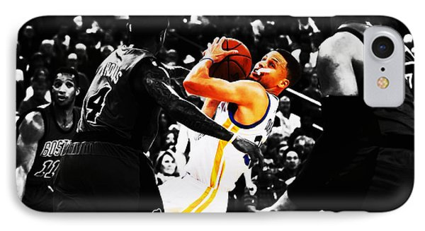 Stephen Curry Stay Focused IPhone Case