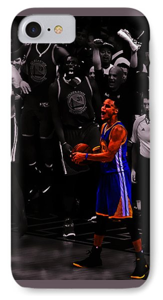 Stephen Curry Sweet Victory IPhone Case