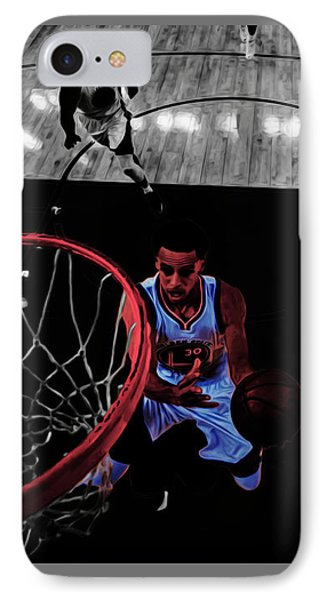 Stephen Curry Taking Flight IPhone Case