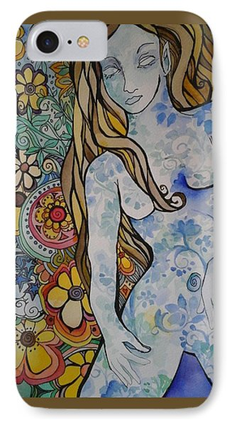 Stepping Out IPhone Case by Claudia Cole Meek