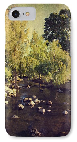 Stepping Stones To My Heart Phone Case by Laurie Search
