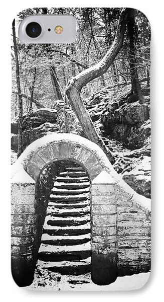 Steps Along The Wissahickon Phone Case by Bill Cannon