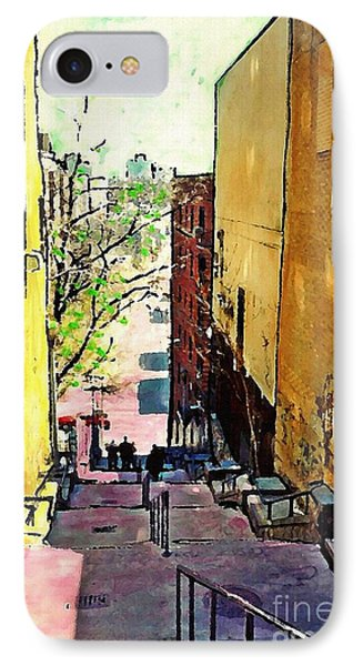 Steps At 187 Street IPhone Case by Sarah Loft