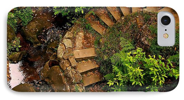 Steps Leading Up The Stairway To Heaven IPhone Case by Blair Stuart