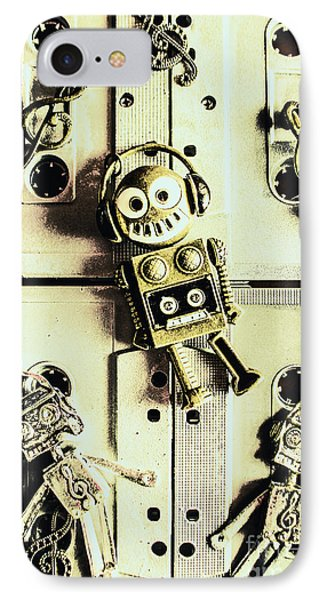 Stereo Robotics Art IPhone Case by Jorgo Photography - Wall Art Gallery