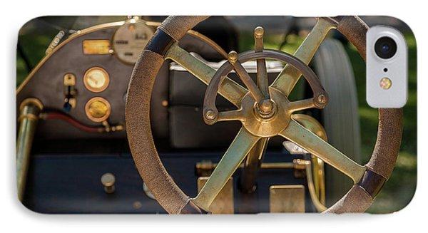 Steering Wheel 1909 Alco Black Beast IPhone Case