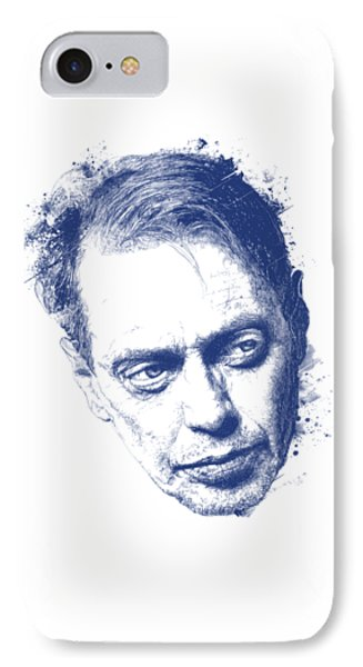 Steve Buscemi IPhone Case by Chad Lonius