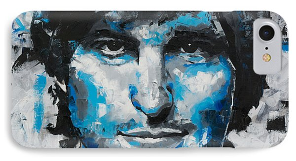 IPhone Case featuring the painting Steve Jobs II by Richard Day