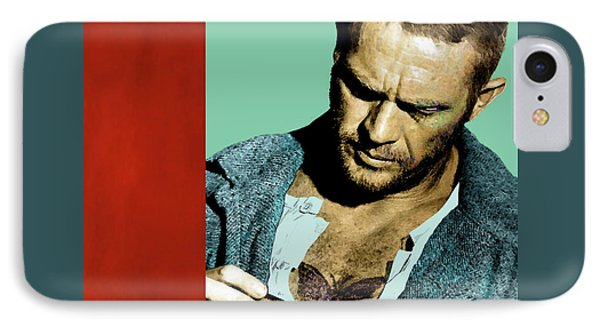 Steve Mcqueen, Papillon, The Butterly IPhone Case by Thomas Pollart