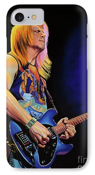 Steve Morse Painting IPhone Case by Paul Meijering