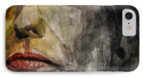 Steven Tyler  IPhone Case by Paul Lovering