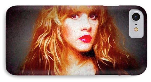 Stevie Nicks Drawing IPhone Case