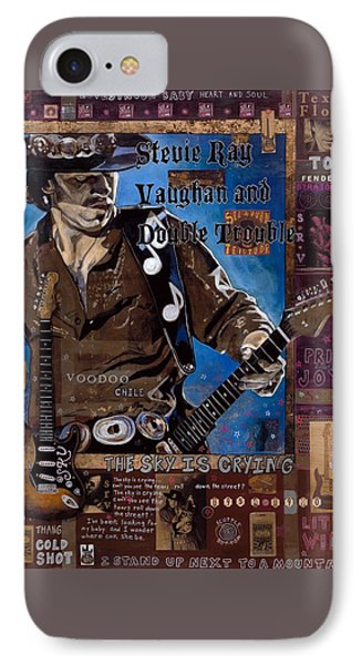 Stevie Ray IPhone Case by Ray Stephenson