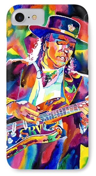 Stevie Ray Vaughan Phone Case by David Lloyd Glover