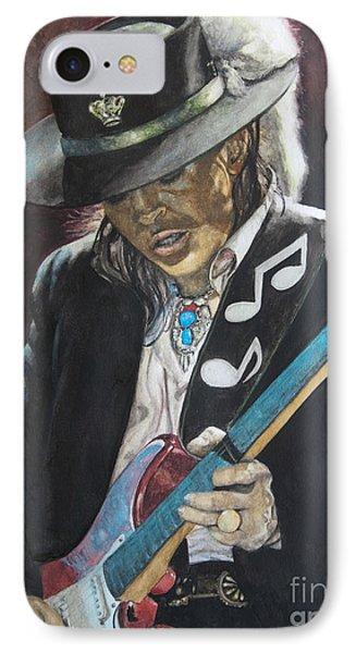 Stevie Ray Vaughan  Phone Case by Lance Gebhardt