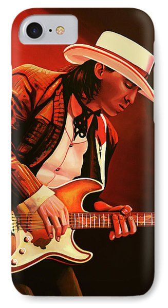 Stevie Ray Vaughan Painting IPhone Case